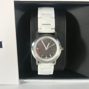 DKNY White Ceramic Watch NY8895